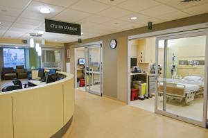 photo of clinical trials unit