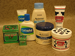 photo of skin care products